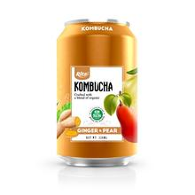 Vietnam Supplier 330ml Canned Ginger And Pear Kombucha Tea Drink