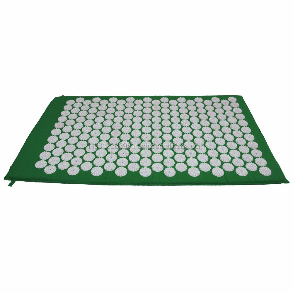 ABS Virgin Plastic Spike used fix without glue yoga acupressure mat