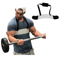 Fitness Arm Curl Blaster  Adjustable Aluminum Bodybuilding Bomber Bicep Curl Triceps Muscle Training Fitness Gym Equipment