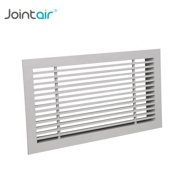 HVAC System Aluminum Side Wall Air Registers Vents Linear Bar Grilles
