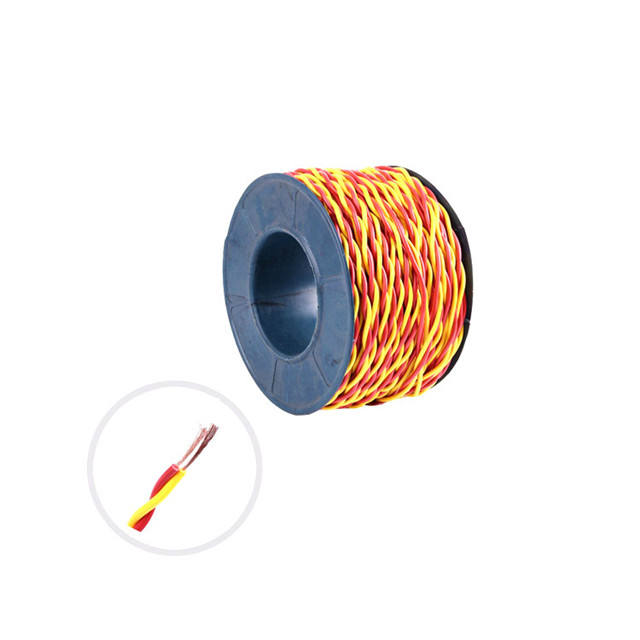 CXTW two core twisted colorful PVC insulated Flexible copper Cable
