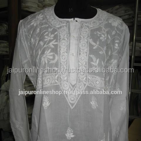 Ladies Embroidery Long Kurti Or Tunic