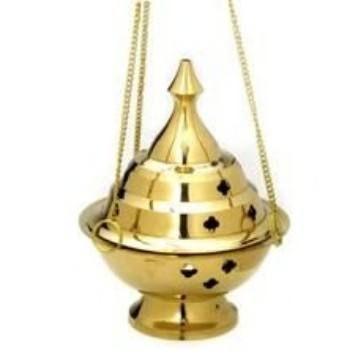 Brass Burners Hanging Censer/Charcoal Incense Burner
