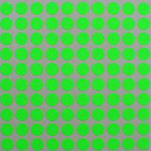 "Dot labels 10mm color Neon Green stickers 3/8 inch "" for crafts arts decoration circles"