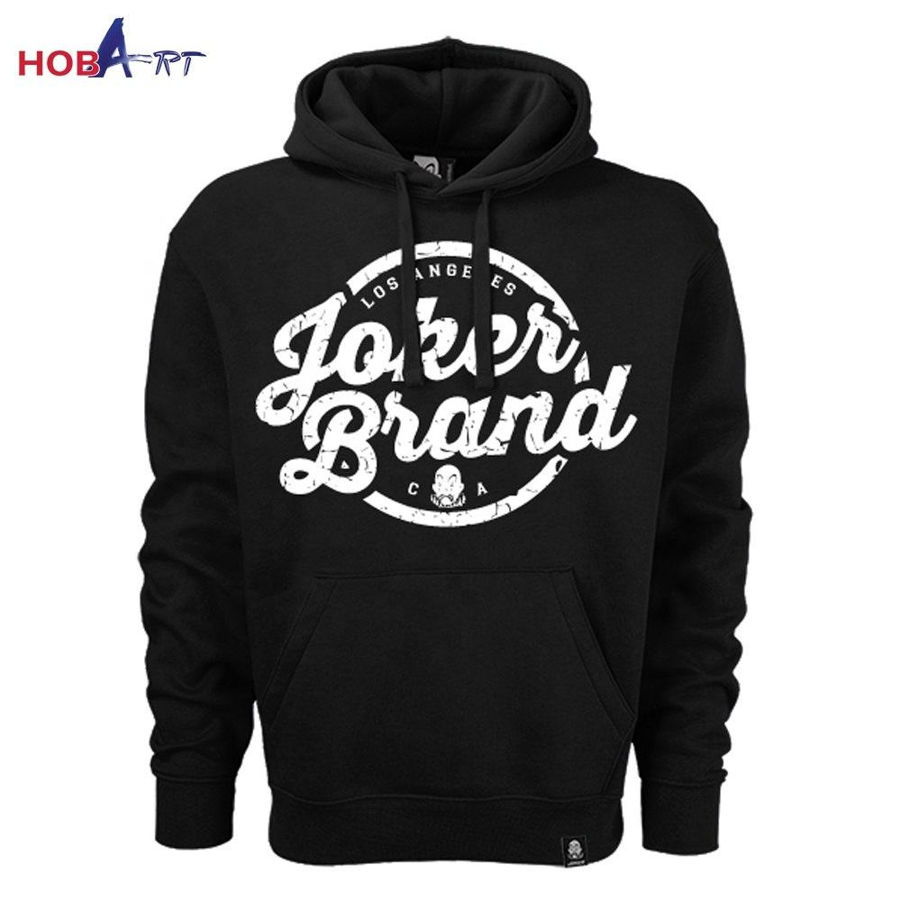 Wholesale Price Men Hip hop 100% Cotton Hoodies