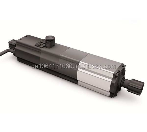 Single-phase capacitor motors for short time operation with mounted gearbox.