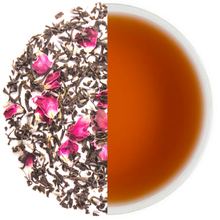 Organic Custom Private Label Loose Tea Blend Dried French Rose Bud Petals Flower Black Loose Tea