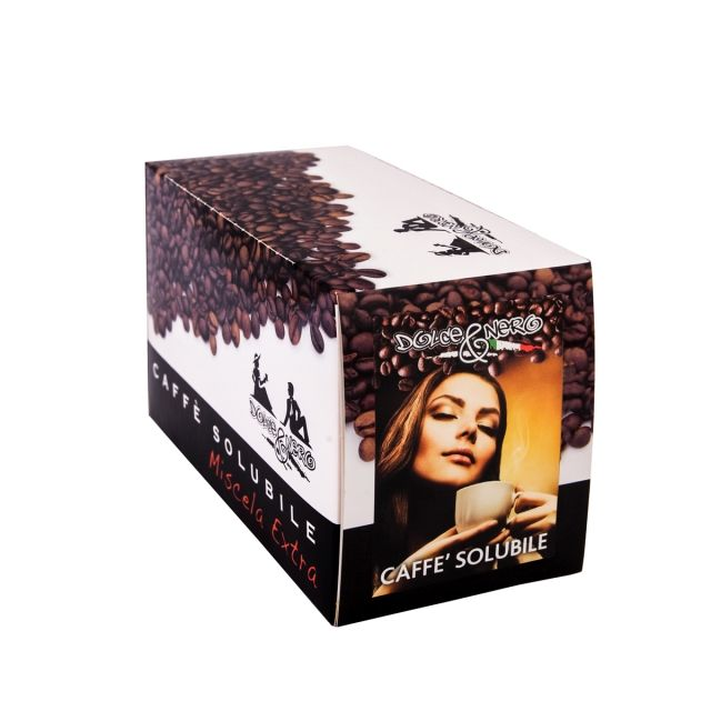 ITALIAN INSTANT COFFEE Box of 40 Single-Serving Envelopes