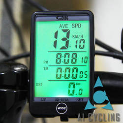 wholesale dropshipping SUNDING SD-576A Water Resistant Bicycle Speedometer Wired ComputerOdometer with LCD Backlight