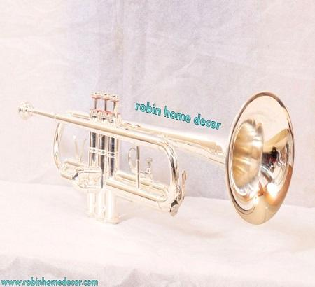 Trumpet Silver Plated Pure Silver A Brand New great in style first time launched in India