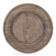 Wood Charger Plate