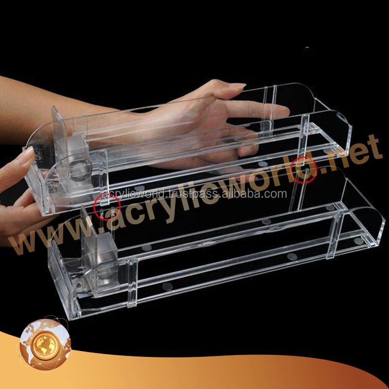 plastic tobacco pusher and divider shelf management system factory supply
