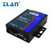 ZLAN9163 RS485 RS232 RS422 to fiber converter Single-fiber SC industrial 20km optic modem switch