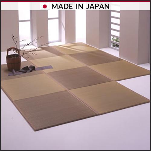 SOEJIMA TATAMIST Natural rush easy to store simple look Japanese mat at low price