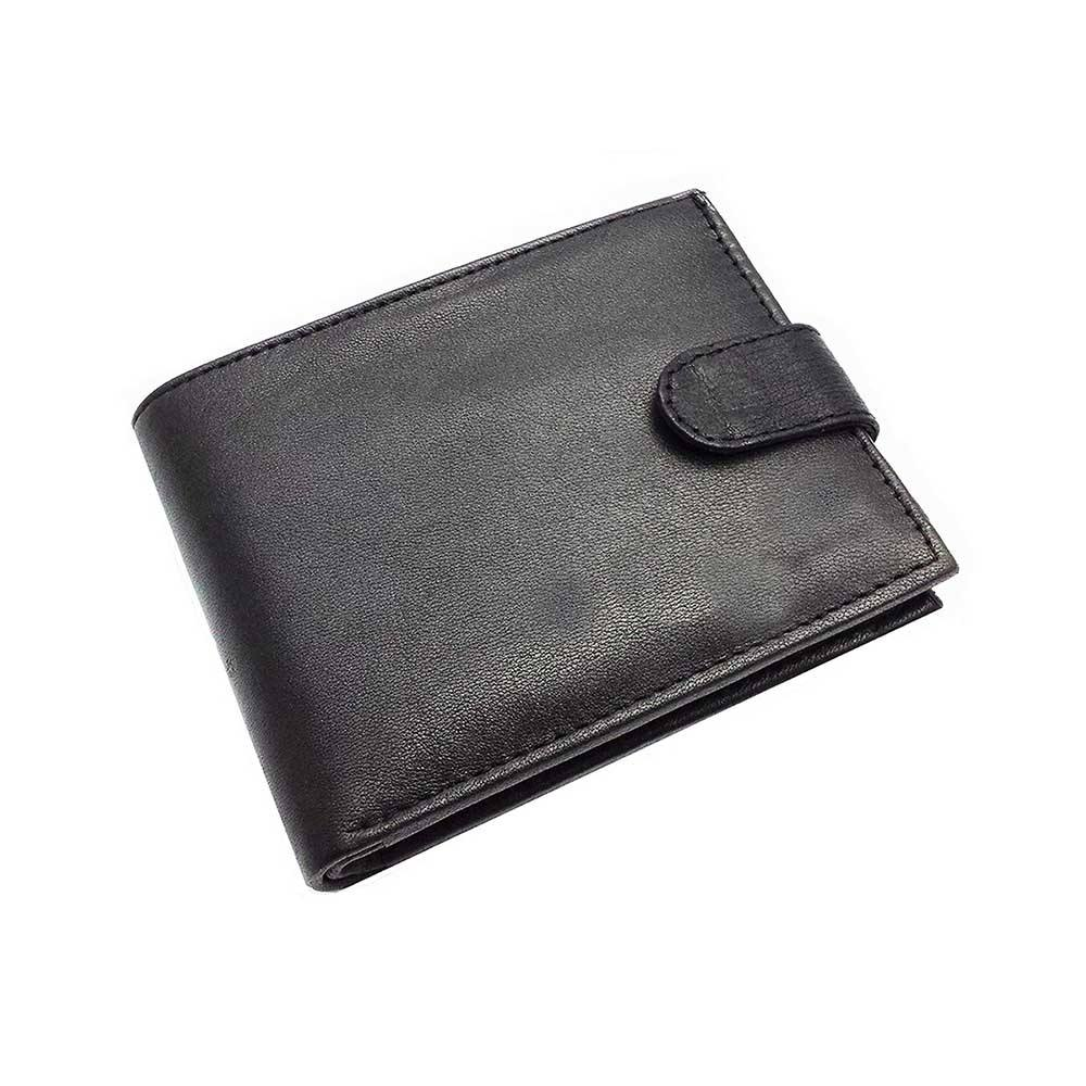 real premium india custom leather wallet brown color quality for men