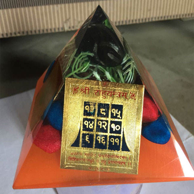 Orgone Fancy Металл YAntra Wish Пирамида