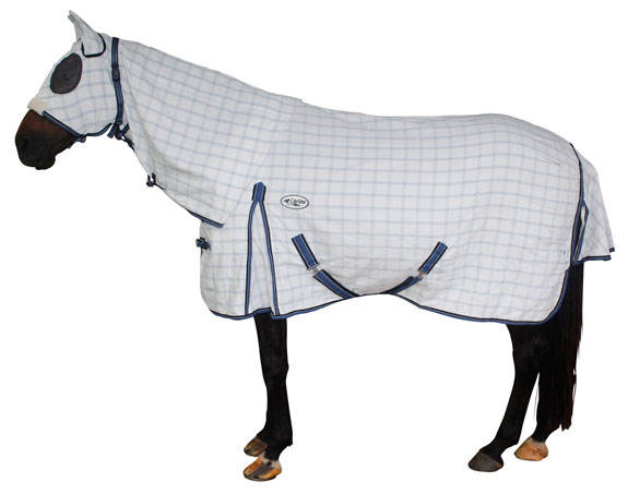 Standard Export Quality Horse Cotton Hooded Rugs