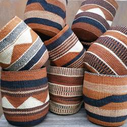 African traditional handmade  Sisal Baskets  , Eco friendly