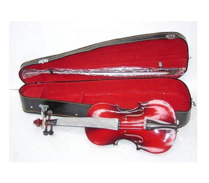 red violin musical instrument