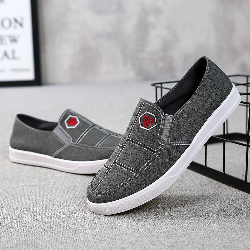2019 spring new men's casual shoes fashion wild old Beijing men's shoes a pedal men's shoes