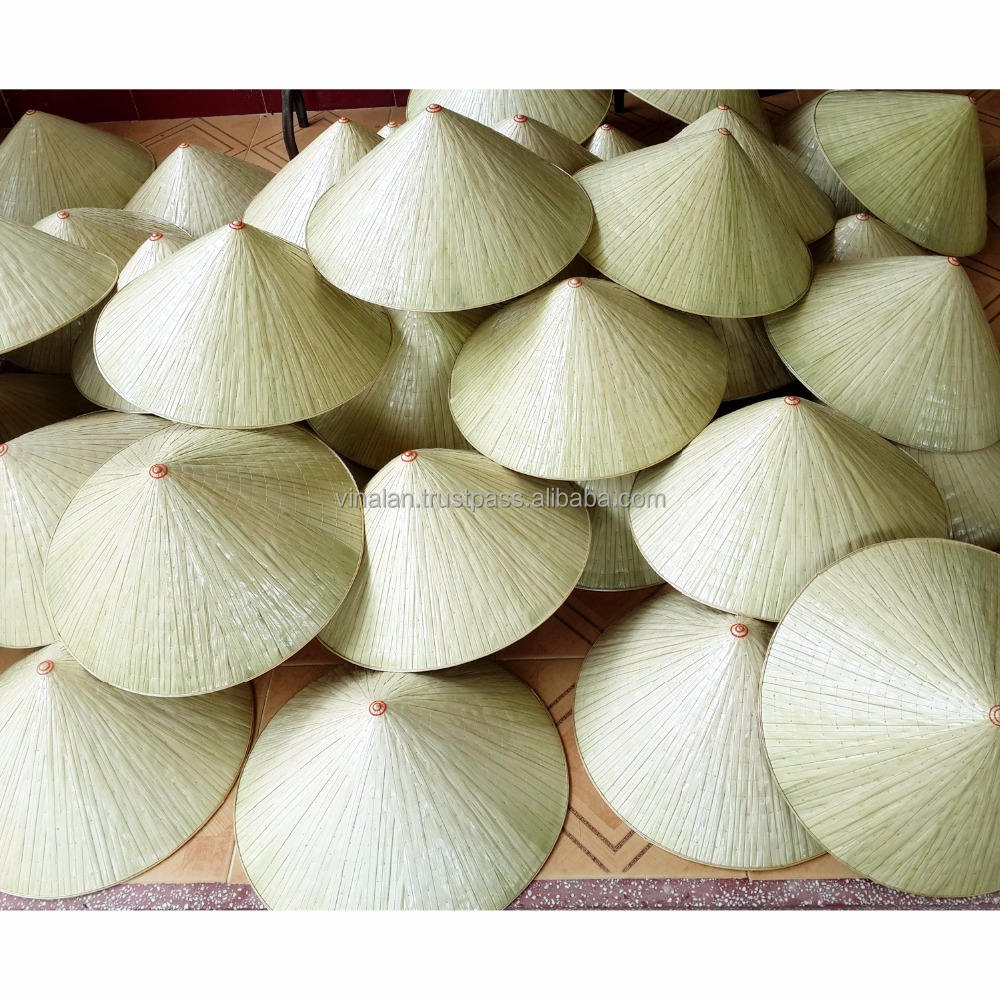 Handmade Vietnam Lot of 10 small /'NON LA/'  Palm-leaf conical hat for Children