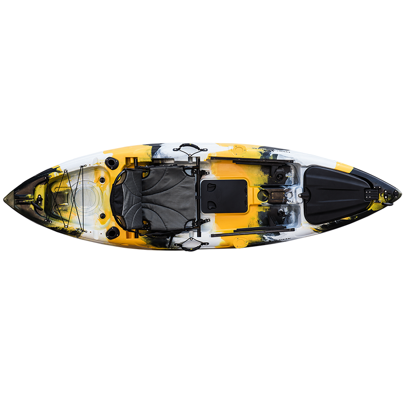 NEW!!! Best quality fishing kayak plastic boat single sit on top sea kayak
