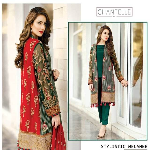 Pakistaanse dames kostuums, pakistaanse designer aldies suits