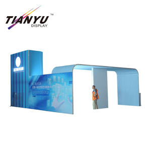 2019 export to worldwide use hot sale truss stand modular exhibition booth/Display System Pipe And Drape Stand