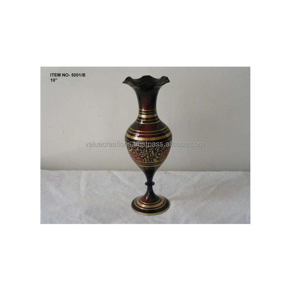 Antique Brass Collection Vases manufacturer