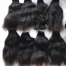 Pure Cambodian Wave Human Hair Natural Wavy Hair Extensions Tangle Free Shedding Free