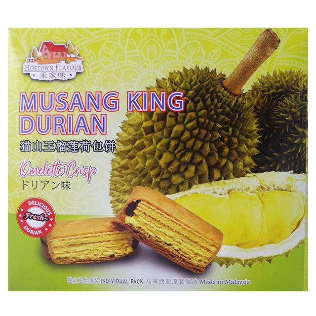 Musang Золотой Король дуриан вкус печенье omellette фабрики