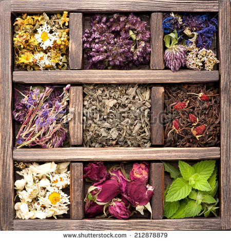 DRIED FLOWERS/ TEA HERB