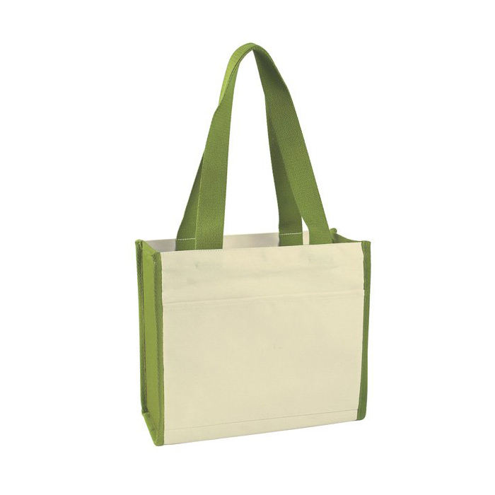 Green Cotton Tote Bag Best Selling Products Online Shopping