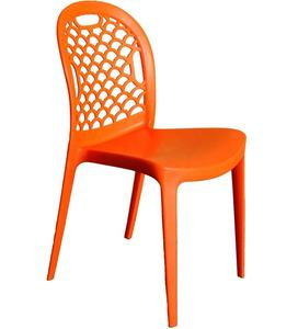 Garden furniture plastic stackable chair