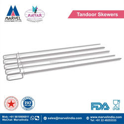 Stainless Steel Tandoor Skewers
