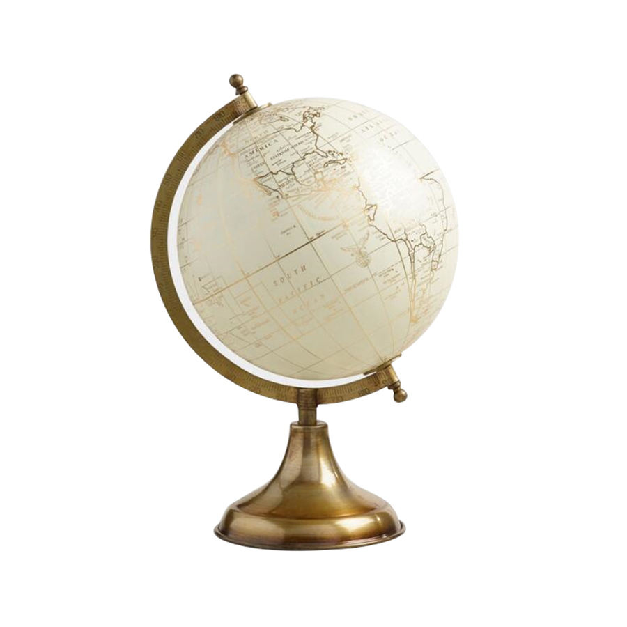 Vintage Magnetic White Color Earth Globe Supplier