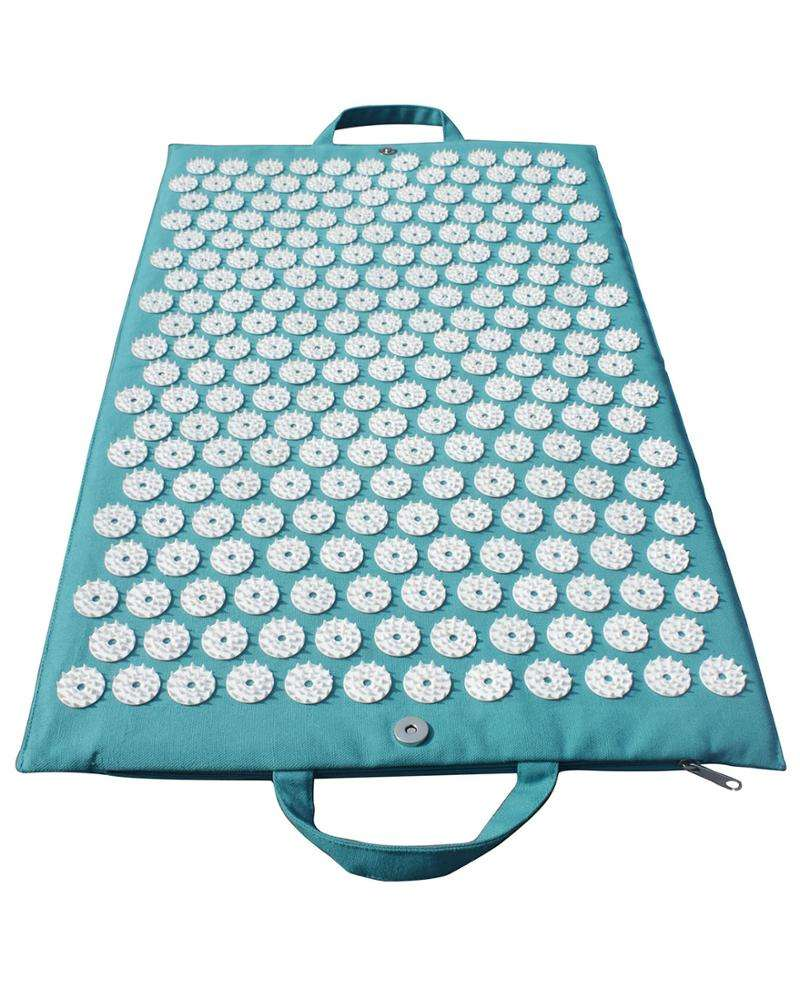 100% Cotton made comfortable Stress Relief acupressure shakti Mat Indian supplier