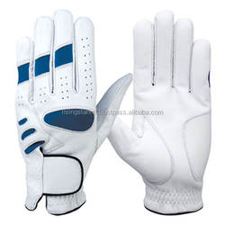 custom made high quality Leather Cabretta Golf Gloves Leather Sheep Skin Golf Gloves for Men and Women