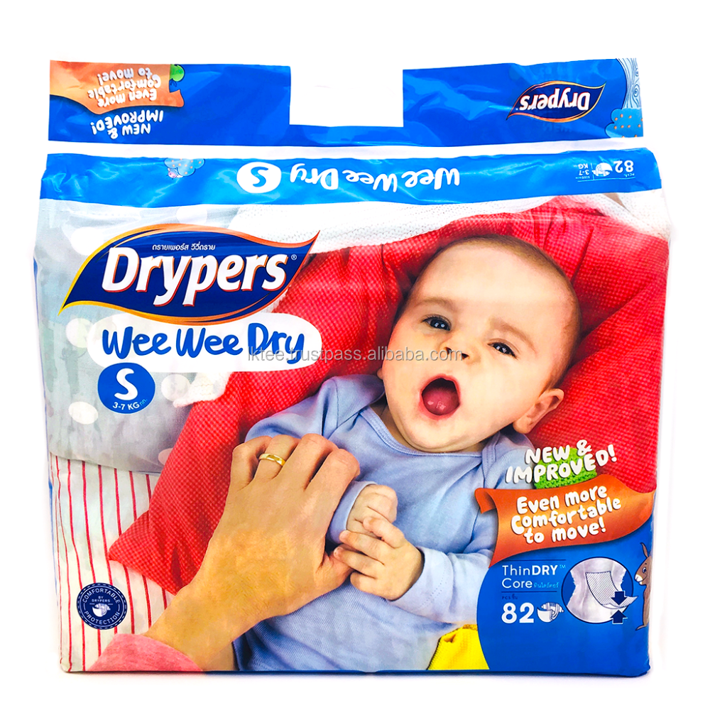 Malaysia Baby Diaper Drypers Disposable Nappy