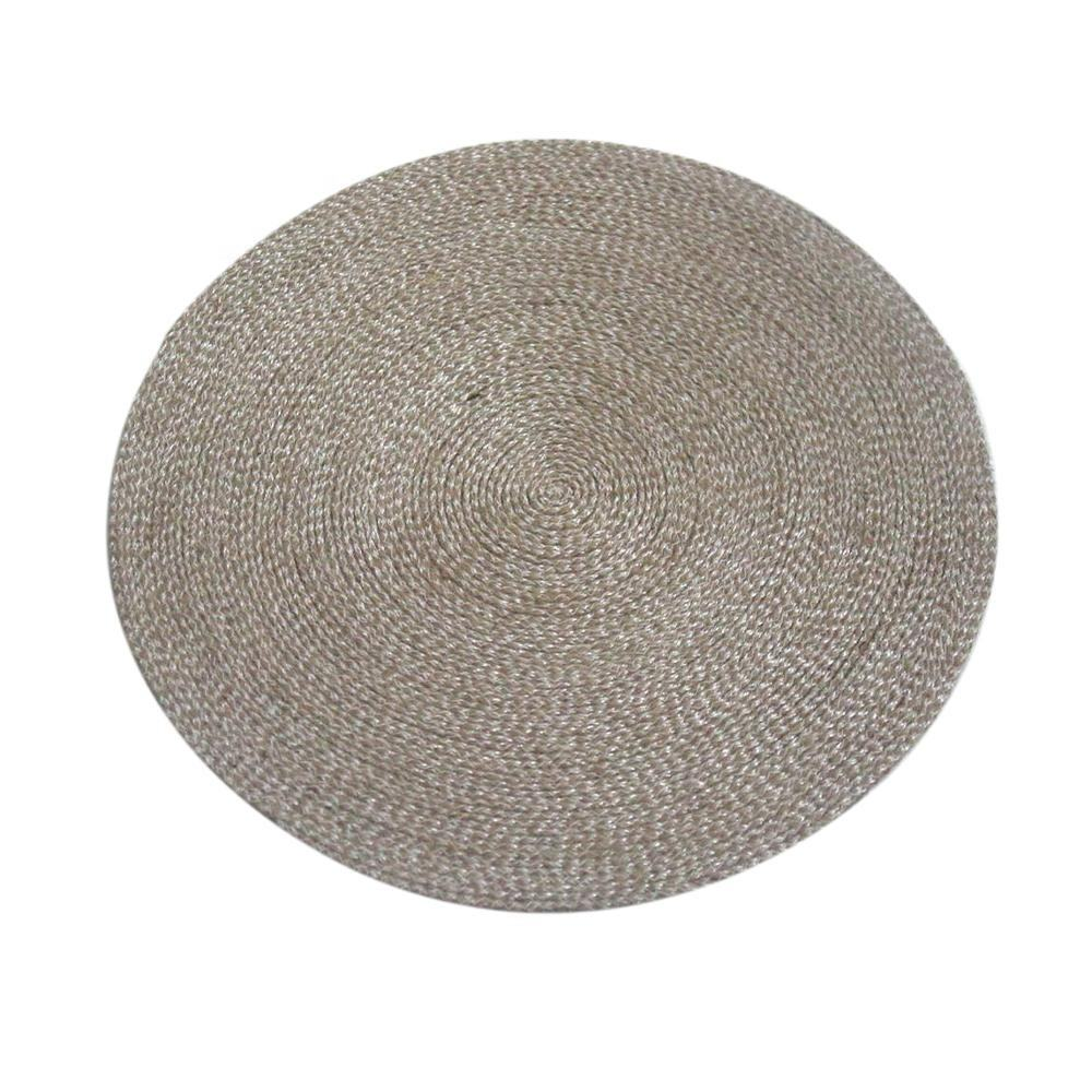Round Placemat Rattan Woven Table Mat
