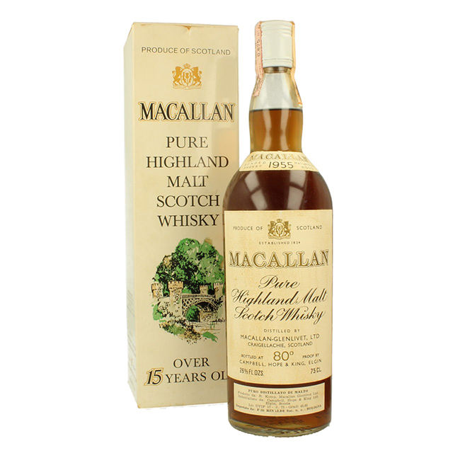 Macallan 15yo 75cl 45,85% 1955 Rinaldi D'importation