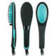 Private label flat iron afro hot pick electric comb fast hair straightener brush