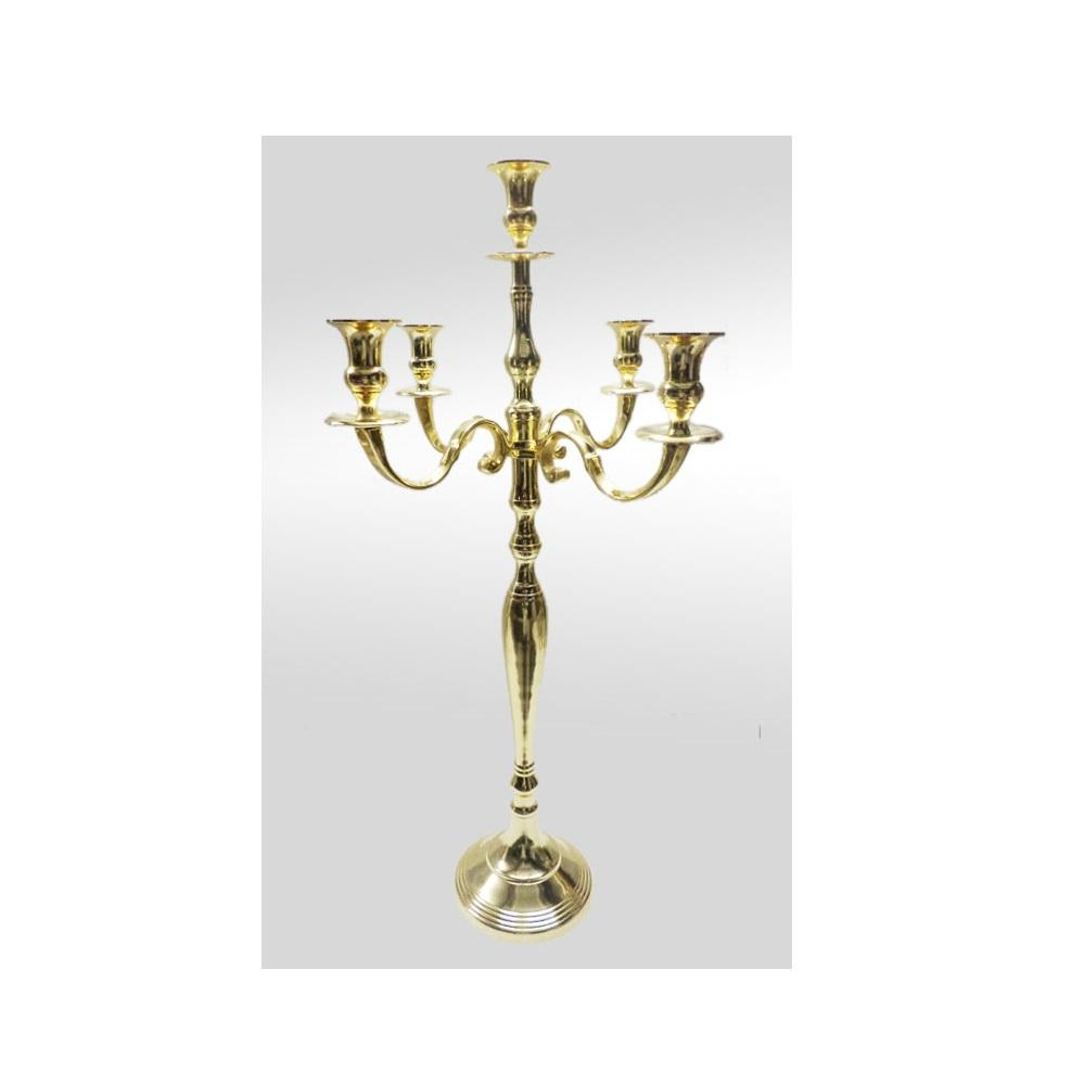 5 Arms tall candelabra