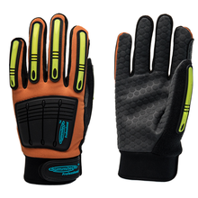 High Impact Para Aramid, Synthetic Leather Palm, Grip, Multi Purpose Oil and Gas Protective Gloves