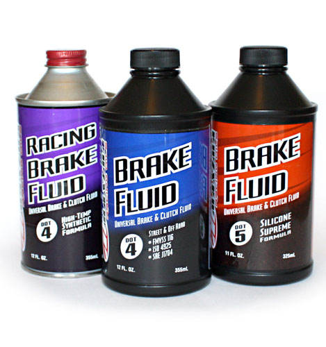 High quality Brake Fluid DOT-3 / DOT-4 / DOT-4+