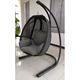 Factory Price High Quality Outdoor Texilene Swing Chair Garden Patio Texilene Swing Chair hanging egg chair