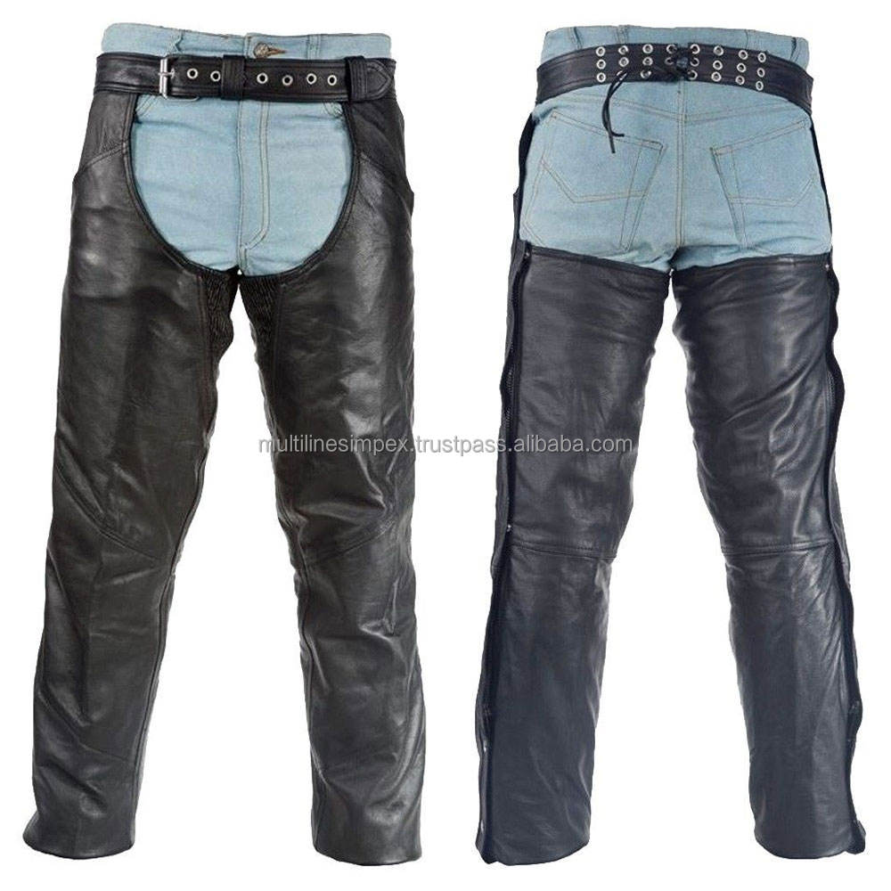 Highly Professional PU Fashion Leather Riding Chap/trousers