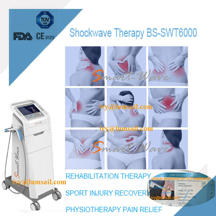 shock wave therapy equipment ESWT for Periostitis shin splints