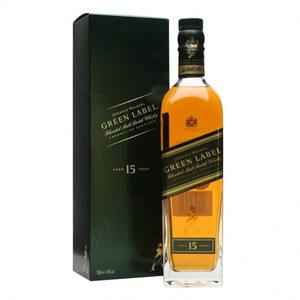 Johnnie Walker Green Label 15 Yo 0.7L (43% VOL)