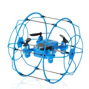 Buscador Mini Drone 2,4g de 6 ejes 4 CH RC UFO volando pared Cimbling RTF Quadcopter KIT